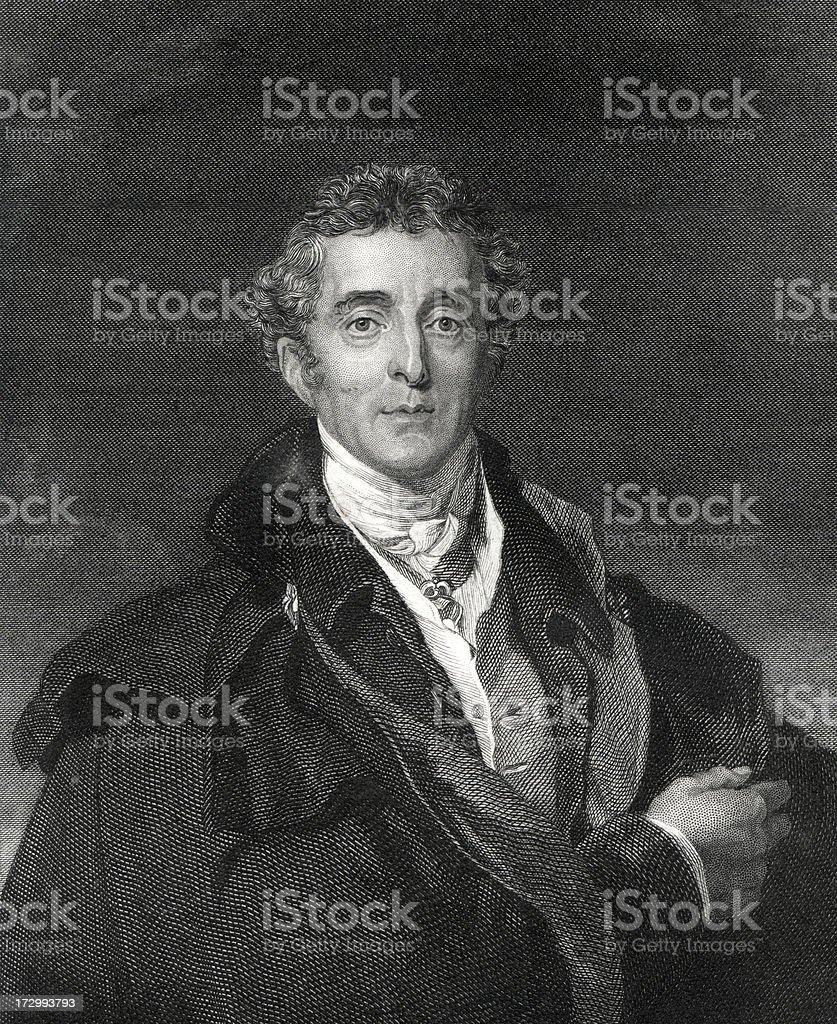 The Duke of Wellington vector art illustration