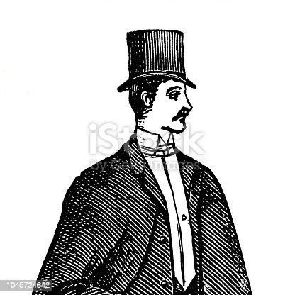 istock The elegance of the 19th century 1045724642