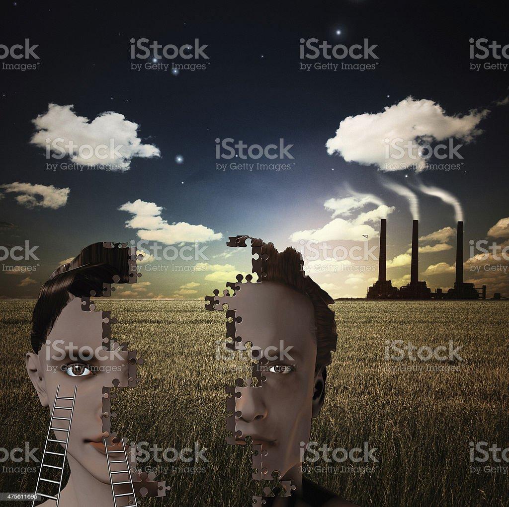 The Factory vector art illustration