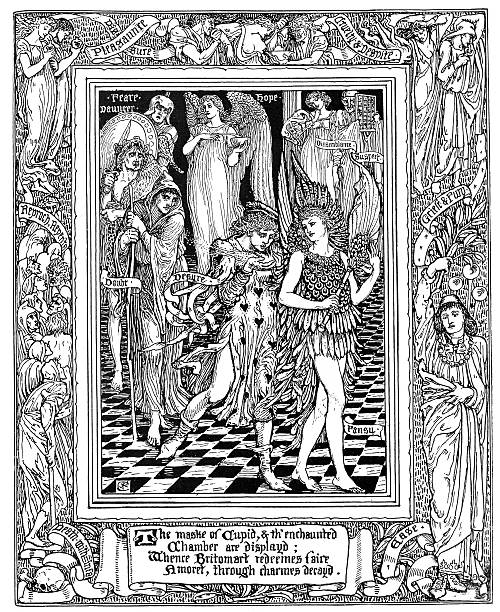 a literary analysis of the faerie queene by edmund spenser The faerie queene summary the faerie queene is a romantic epic, the first sustained poetic work since geoffrey chaucerin this work, spenser uses the archaic language of chaucer as a way to pay homage to the medieval poet.