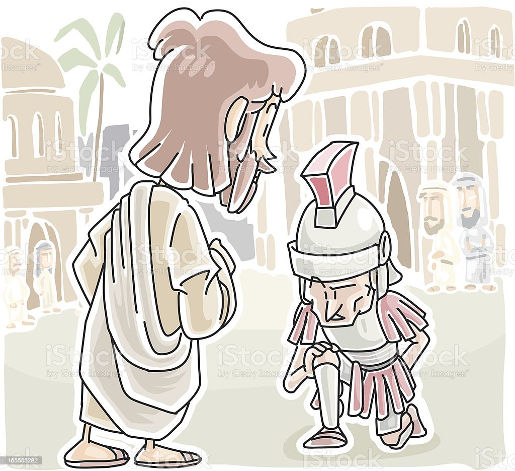 Ilustración de La Confianza De Un Centurion y más banco de imágenes ...