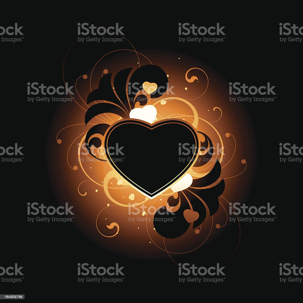 the fire heart royalty-free the fire heart stock vector art & more images of abstract
