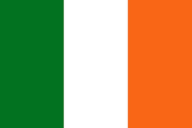 ilustraciones, imágenes clip art, dibujos animados e iconos de stock de bandera irlandesa. - bandera irlandesa