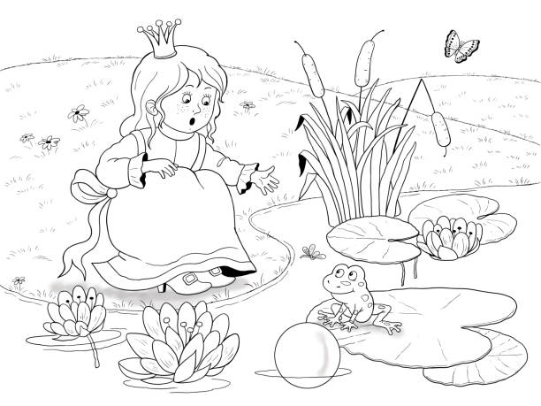Best Book With A Story Of Frog In The Pond Illustrations