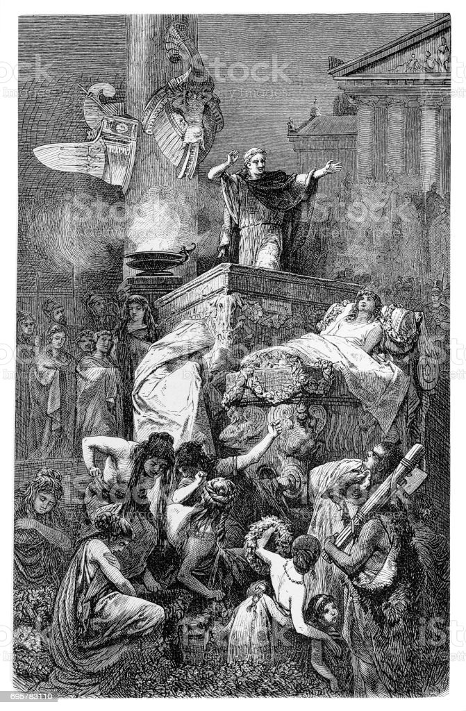 紀元前 1 世紀は倒れたローマ英...