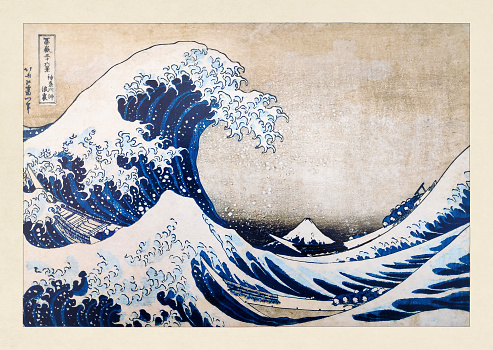 The Great Wave Of Kangawa Stock Illustration - Download Image Now