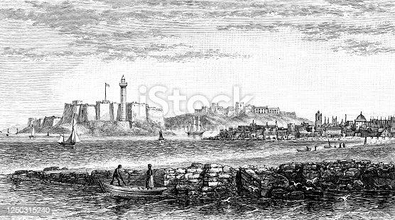 istock The Harbour in Havana, Cuba - 19th Century 1250315240