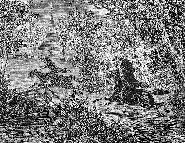 the headless horseman-sleepy hollow - 被砍頭 幅插畫檔、美工圖案、卡通及圖標