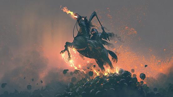 the horseman from the underworld