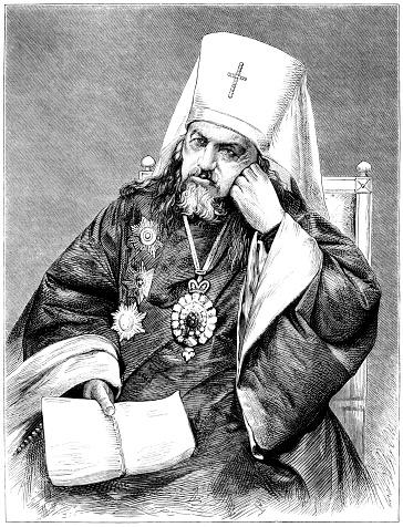 The Metropolitan of St Petersburg (Victorian illustration)