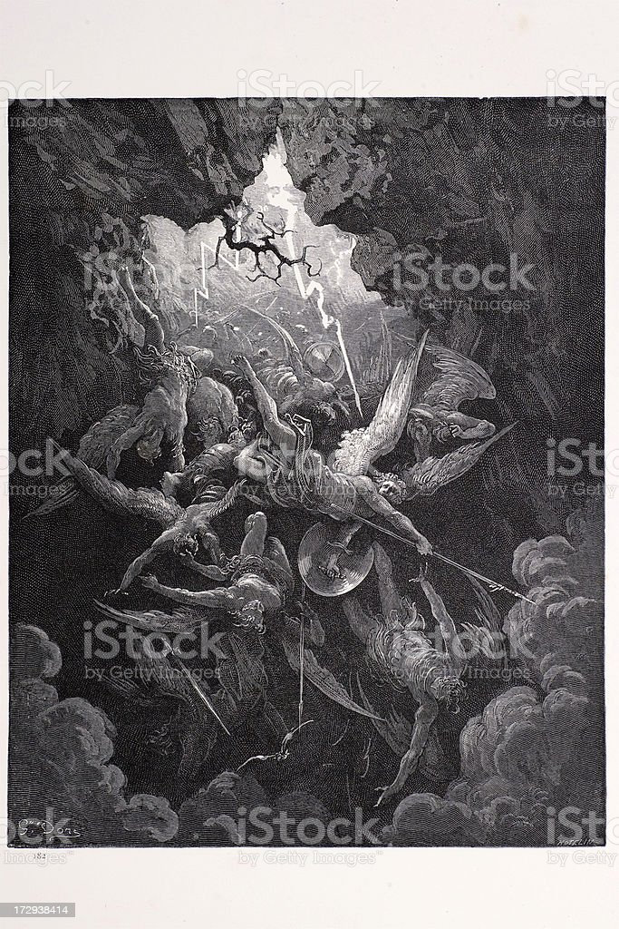 The mouth of Hell royalty-free stock vector art