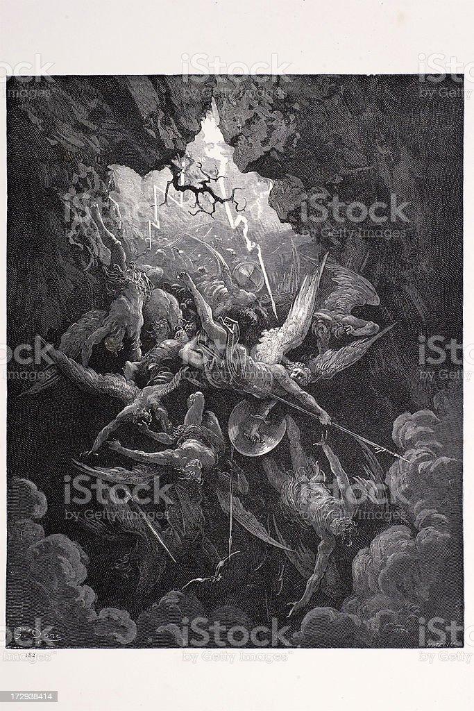 Boca de Hell - ilustración de arte vectorial