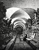 The mummies cellar in Palermo
