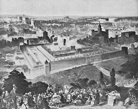 The Old City in Jerusalem, Israel - Ottoman Empire