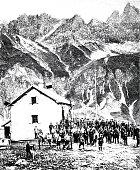 The opening of the Kemptner Hütte in the Allgäu Alps