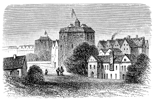 Illustration of The Original Globe Theatre