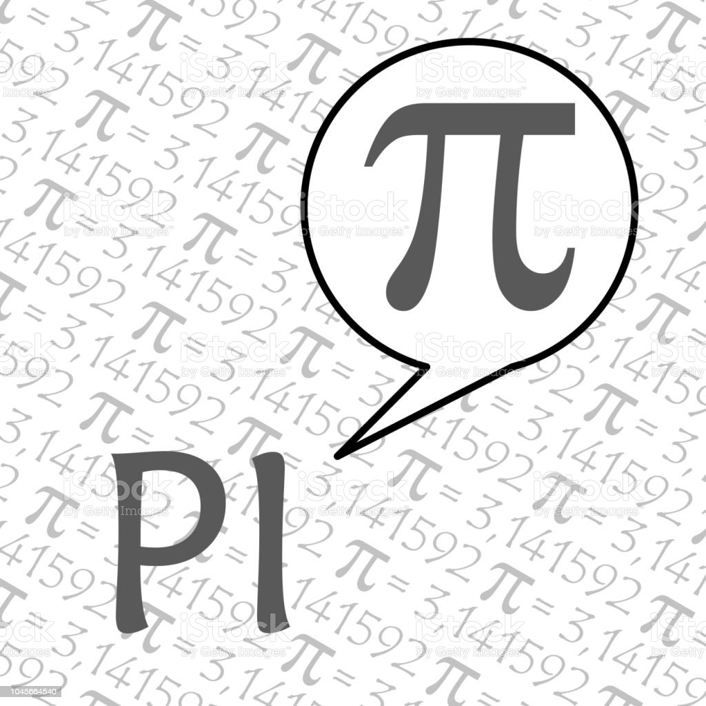 The Pi Symbol Mathematical Constant Irrational Number Greek Letter