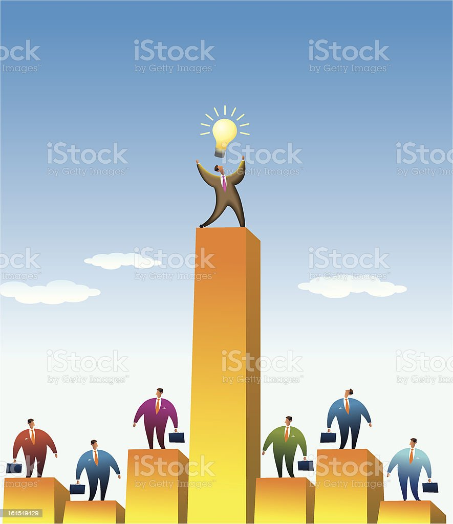The power of a idea royalty-free the power of a idea stock vector art & more images of business