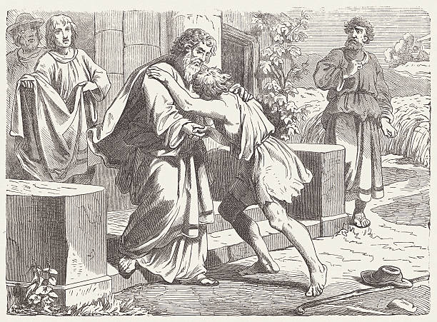 Royalty Free Prodigal Son Clip Art, Vector Images ...