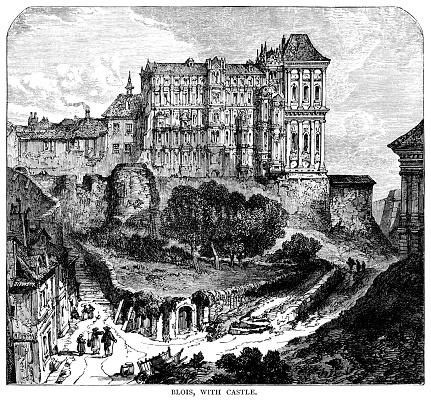 The Royal Château de Blois in Blois, France