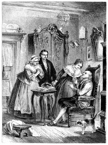 Illustration of The seventieth birthday
