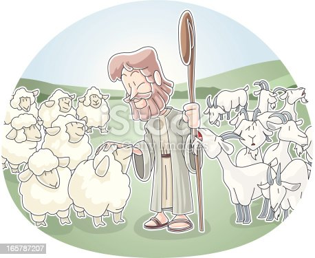 istock The Sheep and Goats 165787207