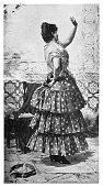 istock The Spanish Dancer 1217628394