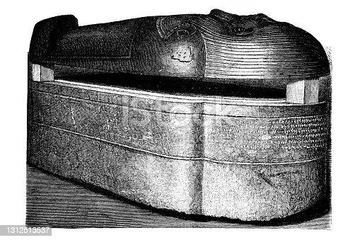 istock The stone coffin of King Eschmunazar II 1312513537