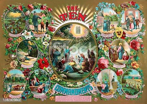 istock The Ten Commandments 1282923502