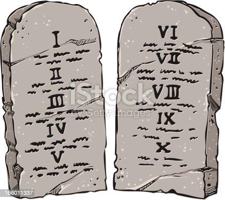 istock the ten commandments 166011337
