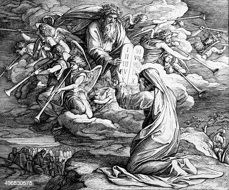 istock The Ten Commandments 496830575