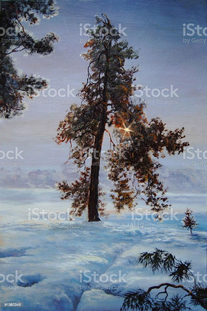 The winter sun royalty-free the winter sun stock vector art & more images of blank
