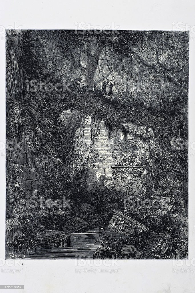 The Wood of Blood royalty-free the wood of blood stock vector art & more images of 19th century