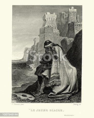 istock Le Jeune Diacre, by Casimir Delavigne 1057545144