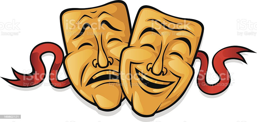 theater drama stock vector art more images of acting 165602121 rh istockphoto com drama vector free download drama victorians ks2 short play