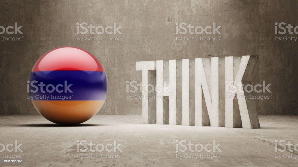 認為概念 免版稅 認為概念 向量插圖及更多 亞美尼亞 - 國家 圖片