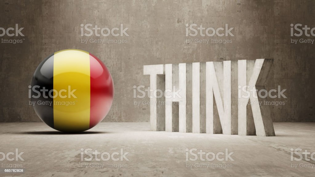Think Concept royalty-free think concept stock vector art & more images of belgian culture