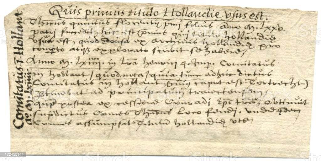 Latin handwriting County of Holland 17th century writing royalty-free latin handwriting county of holland 17th century writing stock vector art & more images of 17th century
