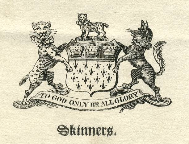 Worshipful Company of Skinners armorial vector art illustration