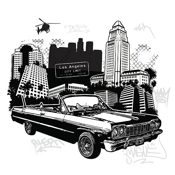 This ones for my homies vector art illustration