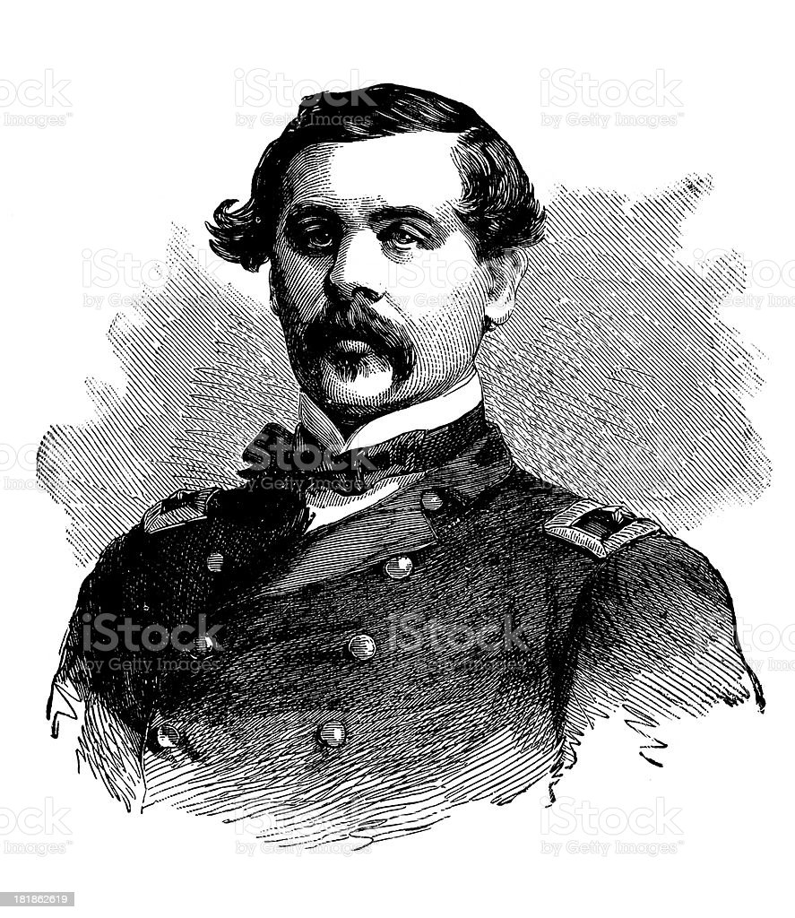 Thomas Francis Meagher royalty-free stock vector art
