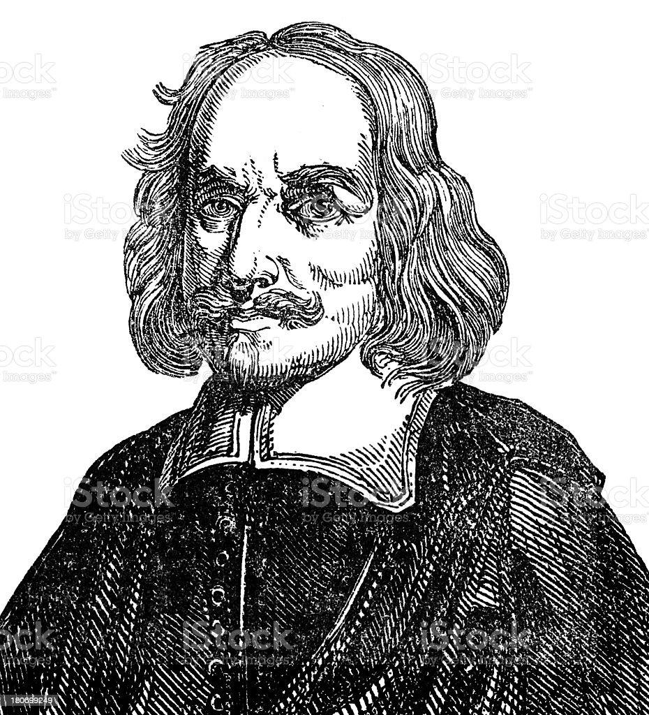 Thomas Nachlik Illustration: Ilustración De Thomas Hobbes Y Más Banco De Imágenes De