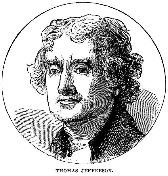 Thomas Nachlik Illustration: Best Thomas Jefferson Illustrations, Royalty-Free Vector