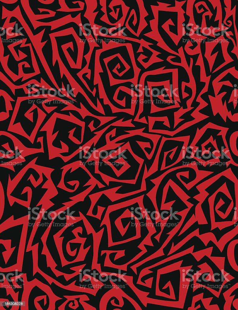 thorns - seamless pattern royalty-free stock vector art