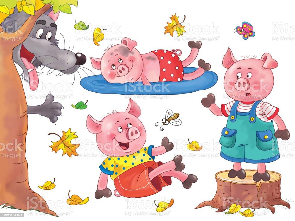 three little pigs fairy tale pdf
