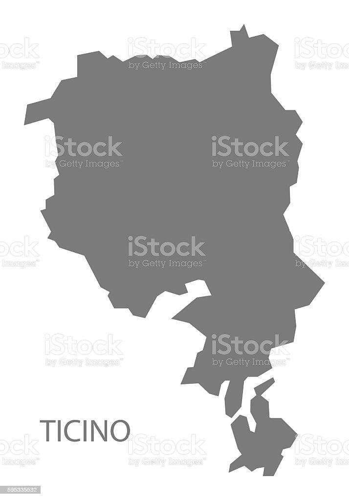 Cartina Geografica Canton Ticino Svizzera.Ticino Switzerland Map Grey Immagini Vettoriali Stock E Altre Immagini Di Canton Ticino Istock