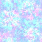 istock Tie dye shibori seamless pattern. Watercolour abstract texture. 1302292415