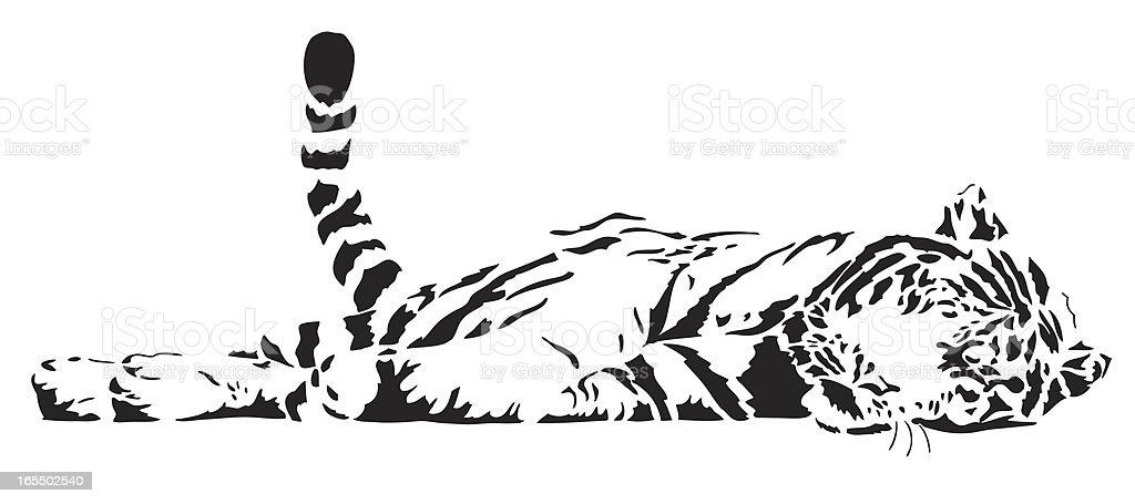 Tiger vector royalty-free tiger vector stock vector art & more images of animal markings