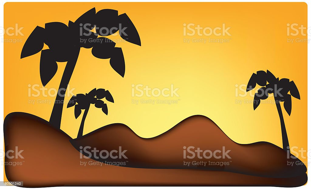 Tiki Island royalty-free tiki island stock vector art & more images of backgrounds