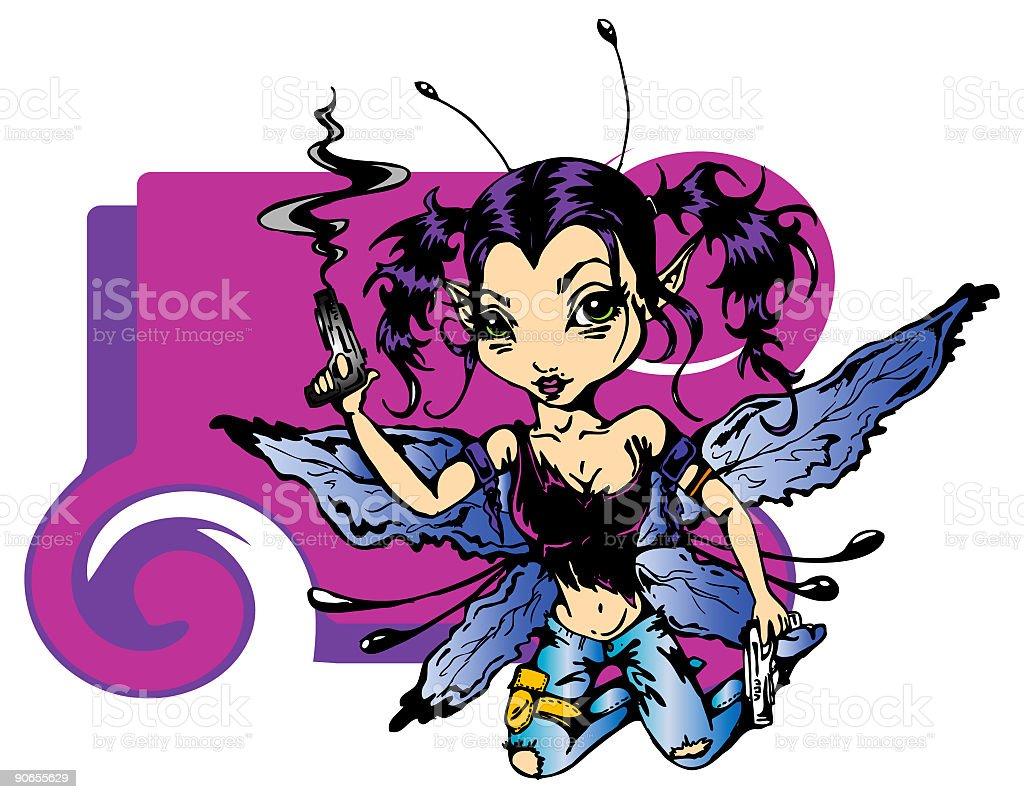 Tinker-Hell royalty-free stock vector art